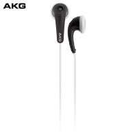 AKG Y16A 耳塞式耳机 立体声音乐耳机 安卓手机耳机 通话耳机 黑色