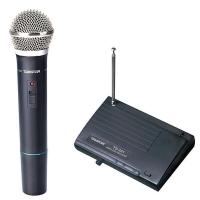 得胜(TAKSTAR)TS-331一拖一无线麦克风教学会议演讲手持无线话筒黑色