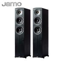 尊宝(Jamo)C605 音响 音箱 2.0声道木质无源家庭影院主/落地式/HIFI/高保真(黑色)