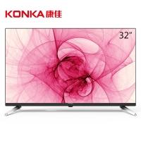 康佳(KONKA)LED32S1 32英寸智能网络wifi卧室平板液晶电视(黑色)