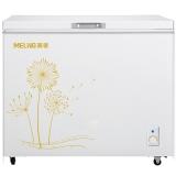 美菱(MELING)208升单温冰柜 一级能效 冷藏冷冻转换冷柜 家用商用变温柜 卧式冰箱BC/BD-208DT