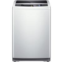 三洋(SANYO) 8公斤全自動波輪洗衣機 大容量洗滌 全模糊智能控制 24h預約(亮灰色) WT8455M0S
