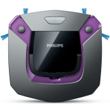 飞利浦(PHILIPS)扫地机器人FC8796/82智能自动家用纤薄拖地吸尘器(湿拖功能)