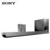 索尼(SONY)HT-RT5 音响 家庭影院 5.1声道 电视音响 NFC蓝牙回音壁 无线环绕音响 (黑色)
