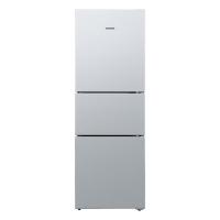 西门子(SIEMENS) 274升 三门冰箱 零度保鲜 滤膜保湿 LED内显(拉丝银) BCD-274(KG28FA29EC)
