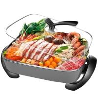 苏泊尔 SUPOR 多用途锅多功能家用电火锅7.5L可煎烤 JJ4030D604