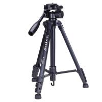 云腾(YUNTENG) VT-688 精品便携三脚架云台套装 微单数码单反相机摄像机旅行用 优质铝合金超轻三角架黑色
