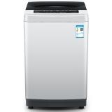 创维(Skyworth)8.5公斤全自动波轮洗衣机 12种洗涤程序 智能模糊洗涤 安心童锁(淡雅银)T85R