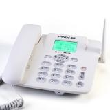中诺(CHINO-E)C265 无线插卡座机、移动联通手机SIM卡电话座机/固定插卡电话机/移动固话 白色