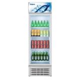 海爾(Haier) 4層擱架/格架 大容積商用立式展示柜 陳列柜 飲料柜 冷柜 冰柜 玻璃門冰箱 SC-242D