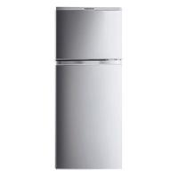 康佳(KONKA)138升 双门冰箱 玻璃搁架(银色)BCD-138UTS