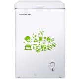 容声(Ronshen) 100升 家用小型冰柜 冷藏冷冻转换 迷你冷柜 节能单温冰箱 BD/BC-100MB