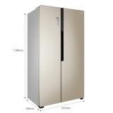 容聲(Ronshen) 636升 對開門冰箱 矢量變頻節能 智能APP 電腦控溫 風冷無霜大容積 BCD-636WD11HPA