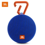 JBL Clip2 音乐盒2 蓝牙便携音箱 音响 户外迷你小音响 音箱 防水设计 高保真无噪声通话 蓝色