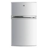 康佳(KONKA)102升 双门 冷冻冷藏冰箱(银色)BCD-102S