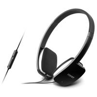 漫步者(EDIFIER) K680 时尚便携耳机 电脑耳机 电脑耳麦 绝地求生耳机 吃鸡耳机 高光黑