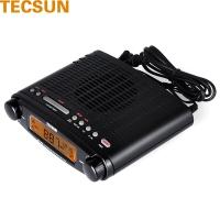德生(Tecsun) MP-300 台式半导体 调频立体声 钟控 USB接口收音机 (黑色)