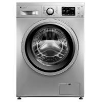 小天鹅(LittleSwan)8公斤变频滚筒洗衣机(银色) wifi智能控制 LED显示屏 低噪音 TG80V60WDS
