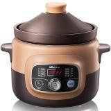 小熊(Bear)电炖锅电炖盅微电脑煲汤煮粥紫砂锅4L大容量 DDG-D40B1