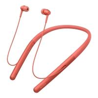 索尼(SONY)WI-H700 蓝牙无线耳机 头戴式 Hi-Res立体声耳机 游戏耳机 手机耳机 暮光红