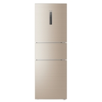 海尔(Haier)258升 风冷无霜变频三门冰箱 智能控制 除菌 干湿分储 BCD-258WDVMU1