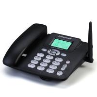 中诺(CHINO-E)C265 无线插卡座机、移动联通手机SIM卡电话座机/固定插卡电话机/移动固话 黑色