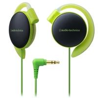 铁三角(audio-technica)ATH-EQ500 轻量便携 时尚运动 舒适挂耳式耳机 浅绿色
