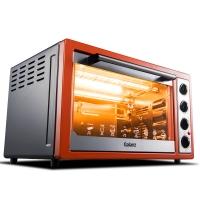 格兰仕(Galanz)烤箱家用多功能烘焙30升/L 光波加热 不粘内胆 上下独立控温带转叉热风 K4