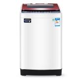 威力(WEILI)7公斤全自动波轮洗衣机(酒红色) 一键洗衣 抗菌波轮 自判水位 XQB70-7029