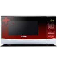 格兰仕(Galanz)G70F20CN3P-N9(W0)微波炉 中国红 智能光波 微晶平板 1秒启动 花纹机身 营养菜单