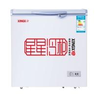 星星(XINGX) 140升 家用小冰柜 冷冻冷藏转换冷柜 单温冰箱 安全门锁 顶开门 BD/BC-140E