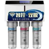 沁园(QINYUAN)RU-185J(WIFI智能)节水型APP智控版家用净水器双核心膜过滤纯水机