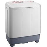 美的(Midea) 8公斤大容量双缸洗衣机 半自动双桶 MP80-V606 灰色
