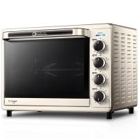 長帝(changdi)電烤箱 家用多功能 搪瓷內膽 獨立控溫  CRTF32W