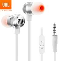 JBL T280A 立体声入耳式耳机/手机耳机/游戏耳机 带麦可通话 流光银