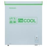 奥马(Homa) 143升 卧式变温冷柜 一机四用 静音节能 大冷冻力 绿晶白 BC/BD-143
