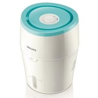 飞利浦(PHILIPS)加湿器 上加水 纳米无雾恒湿 静音办公室卧室家用加湿 HU4801/00(白色+浅绿色)