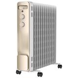 美的(Midea)取暖器/电暖器/电暖气13片新品电热油汀NY2213-18GW