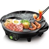 利仁(Liven)电烧烤炉涮烤一体锅家用烧烤盘SK-J3200A