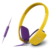 漫步者(EDIFIER) K680 时尚便携耳机 电脑耳机 电脑耳麦 绝地求生耳机 吃鸡耳机 活力黄