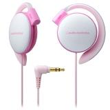 铁三角(audio-technica)ATH-EQ500 轻量便携 时尚运动 舒适挂耳式耳机 浅粉色