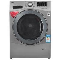 LG 7公斤超薄直驱变频滚筒洗烘一体洗衣机 智能手洗模式 高温洗涤 智能烘干 碳晶银 WD-K12427D