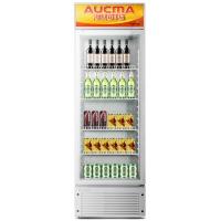 澳柯玛(AUCMA)237升 低耗环保 7档调节 4搁架立式展示柜 陈列柜SC-237(NE)