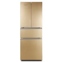万宝(Wanbao) 348升 法式多门冰箱 玻璃面板 HIPS环保内胆 三温保鲜 BCD-348MC