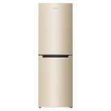 奥马(Homa) 228升 风冷无霜大两门冰箱 电脑控温 静音离心风机 制冷均匀 金色 BCD-228WH