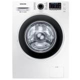 三星(SAMSUNG)8公斤全自动滚筒洗衣机节能静音 钻石型内筒WW80J5230GW(XQG80-80J5230GW)(白)