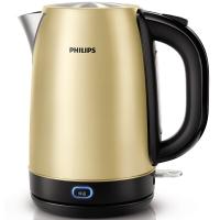 飞利浦(PHILIPS)电热水壶 304不锈钢 保温型烧水壶 HD9330/50 1.7L电水壶