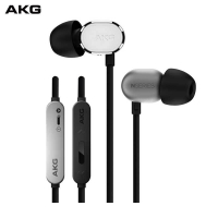 爱科技(AKG)N20U 入耳式耳机 HIFI音乐耳机 重低音手机耳机 耳麦线控 苹果安卓双系统切换三键耳机  银色