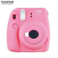 富士(FUJIFILM)INSTAX 一次成像相机 MINI9相机(mini8升级款) 火烈鸟粉