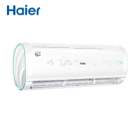 海尔(Haier)小1匹 冷暖 app智能操控 自清洁 空调挂机KFR-23GW/16GAB13U1套机(悦+)